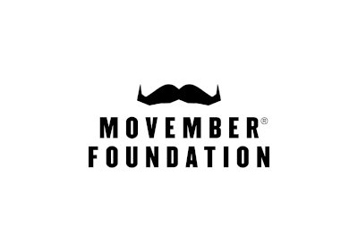 MENS HEALTH AND MOVEMBER An Everlasting Difference Logo Black