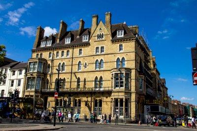 The Cream Tea War 997AD present Randolph Hotel Beaumont Street Oxford
