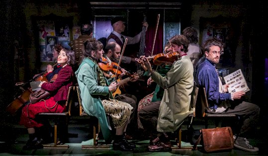 Review Amelie The Musical Members of the cast  Photo Pamela Raith
