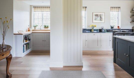 Design Without Limitations Steven Andrews Conibear Kitchen around column