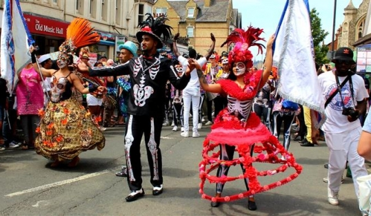 An Ode to Cowley Road Carnival  Skeleton Parade