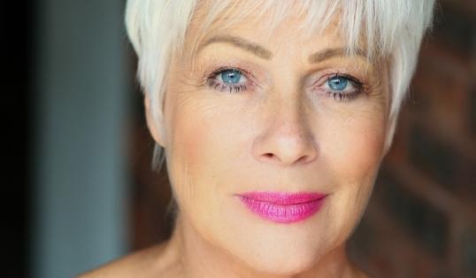 Denise Welch Head Shot Pink