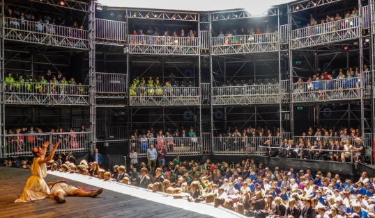 Quintessentially English Shakespeares Rose Theatre Live Performance