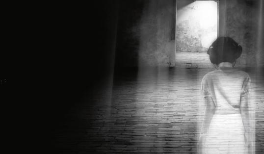 Halloween spirits shadows of the night