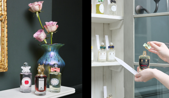 The Scents of Britain Fragrance Profiling Scent Bottles