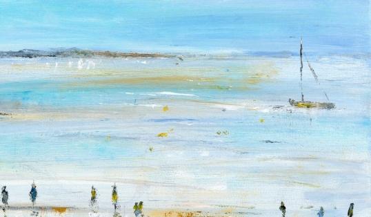 Portrait of an Artist Maureen Gillespie Beach