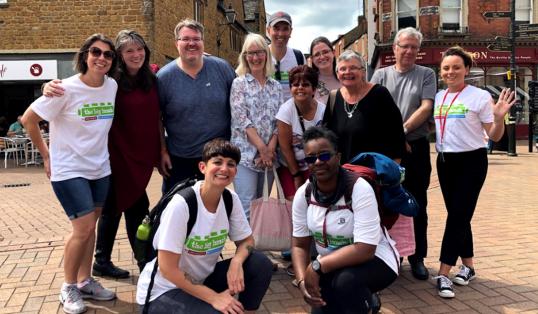 Big Lunch Community Walk Team England