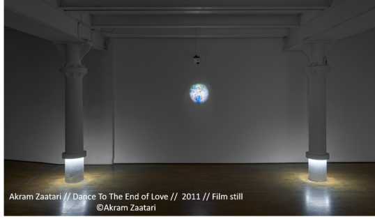 Oxford Unfiltered Akram Zaatari Dance To The End of Love Film Still Exhibition Modern Art Oxford