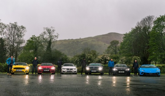 Run Out of Fathers Day Gift Ideas Car Line Up