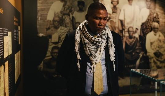 Mandela Message Lives On Mandla Mandela Brixton Exhibition picture