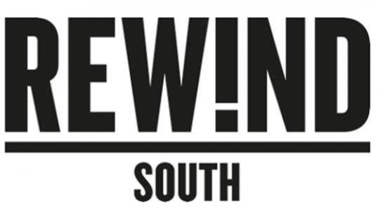 Rewind Festival Logo Black and White