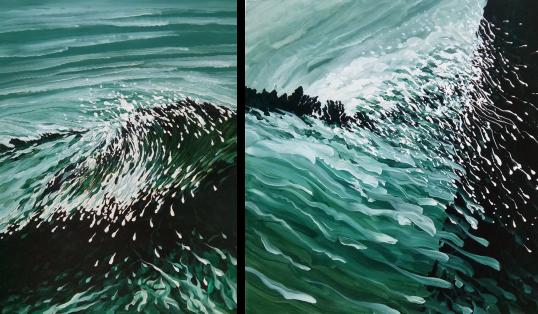 Raymond Martinez Sea Painting