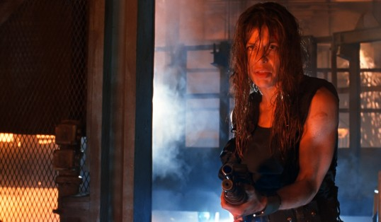 Forgotten Women of Film Linda Hamilton in Terminator 2 Judgment Day