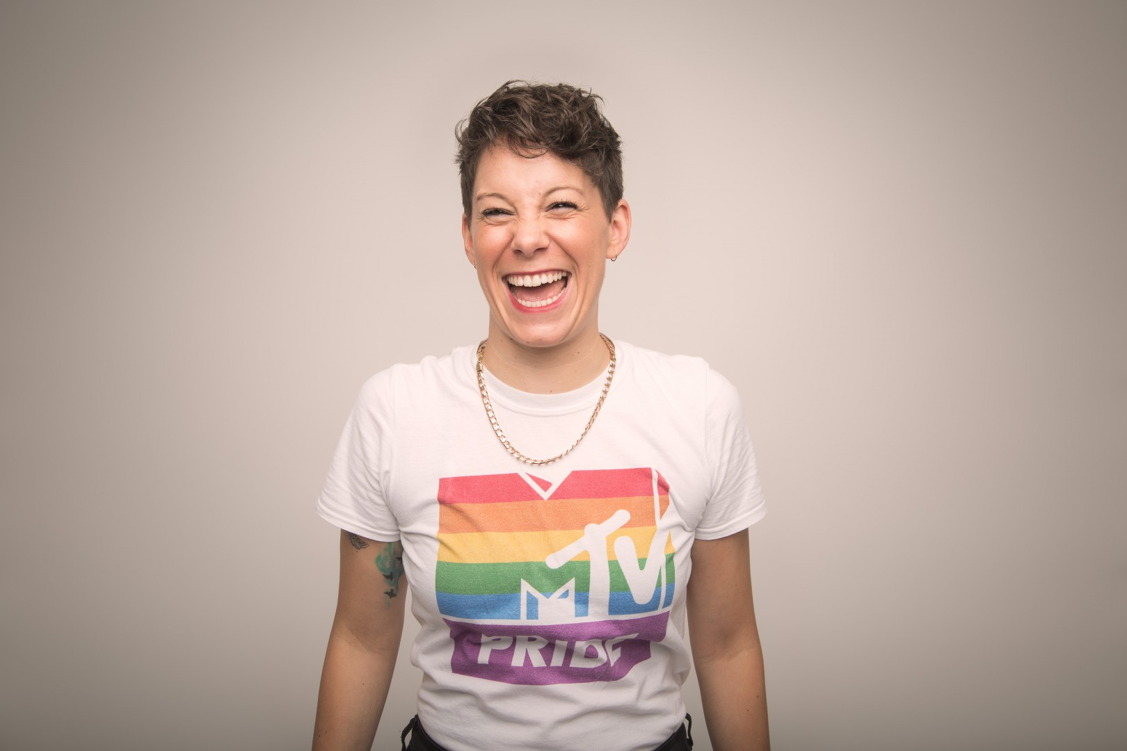 Suzi Ruffell Rationale in the Ridiculous MTV Pride Top