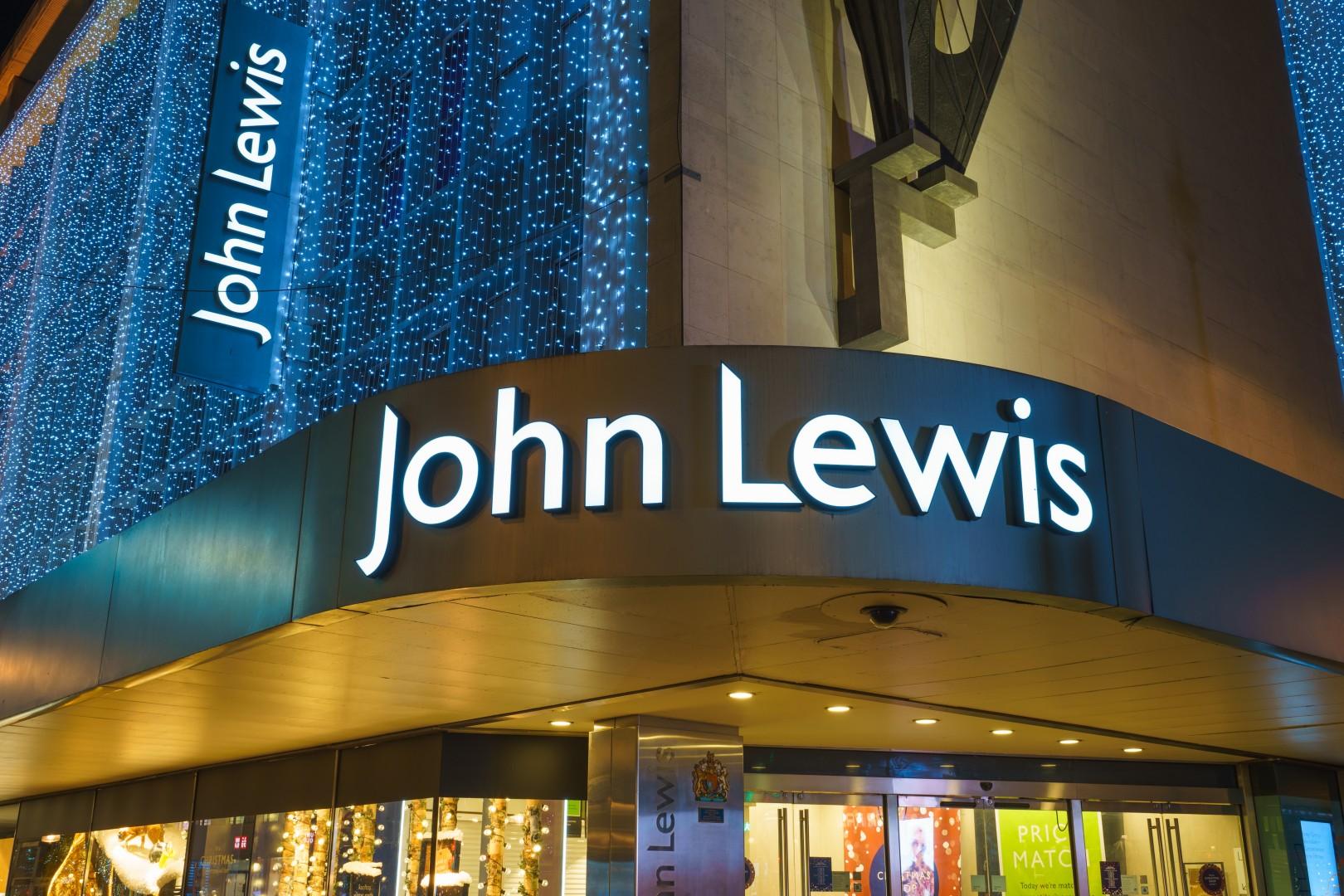 John Lewis London Store Header Image