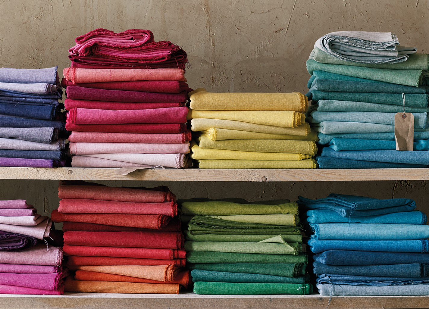 Romo Linara bright cotton linen blend
