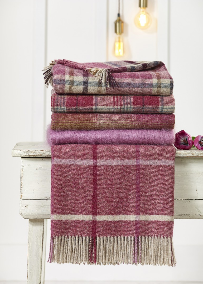Function and style in a rural home Bronte by Moon Shetland Throws