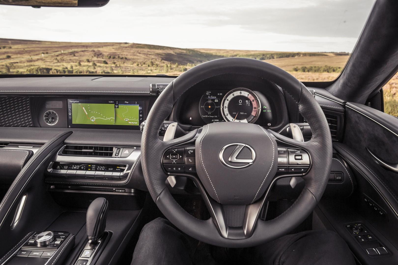 Lexus LC500 V8 Interior