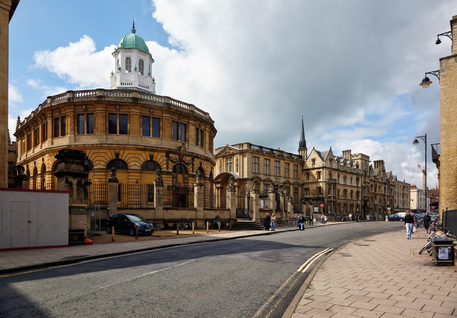 The Sheldonian Theatre Oxford