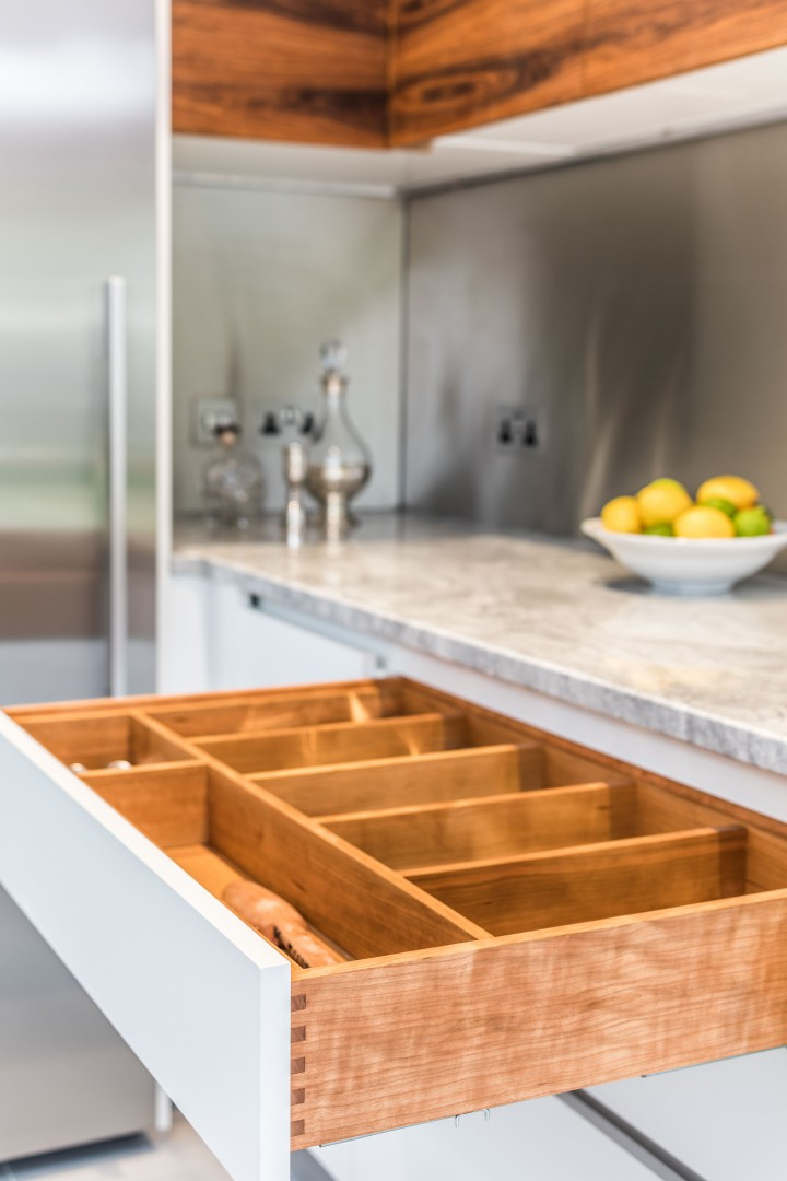 Steven Andrews Design Without Limitations kitchen drawers
