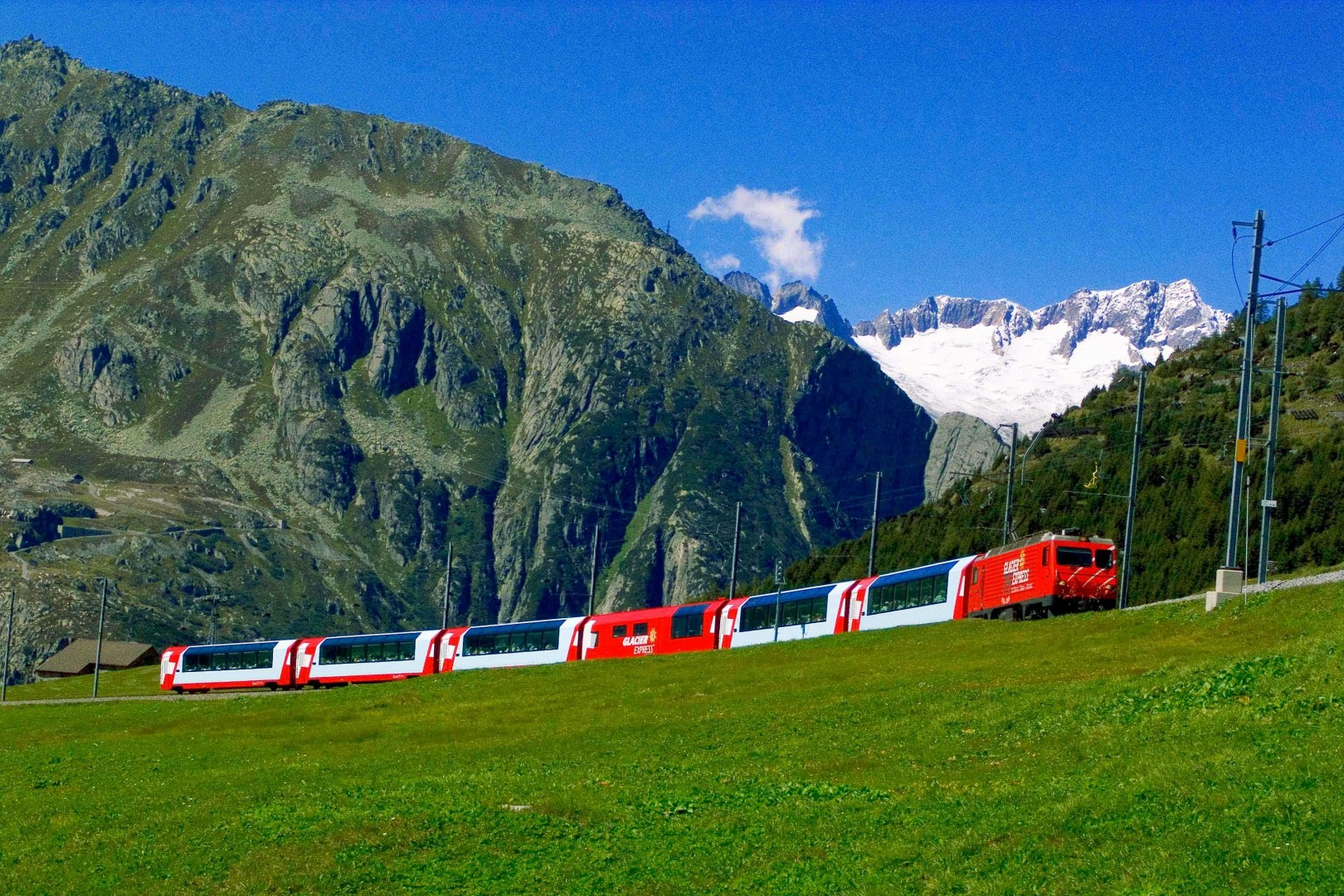 Great Railway Journeys of the World Glacier Express