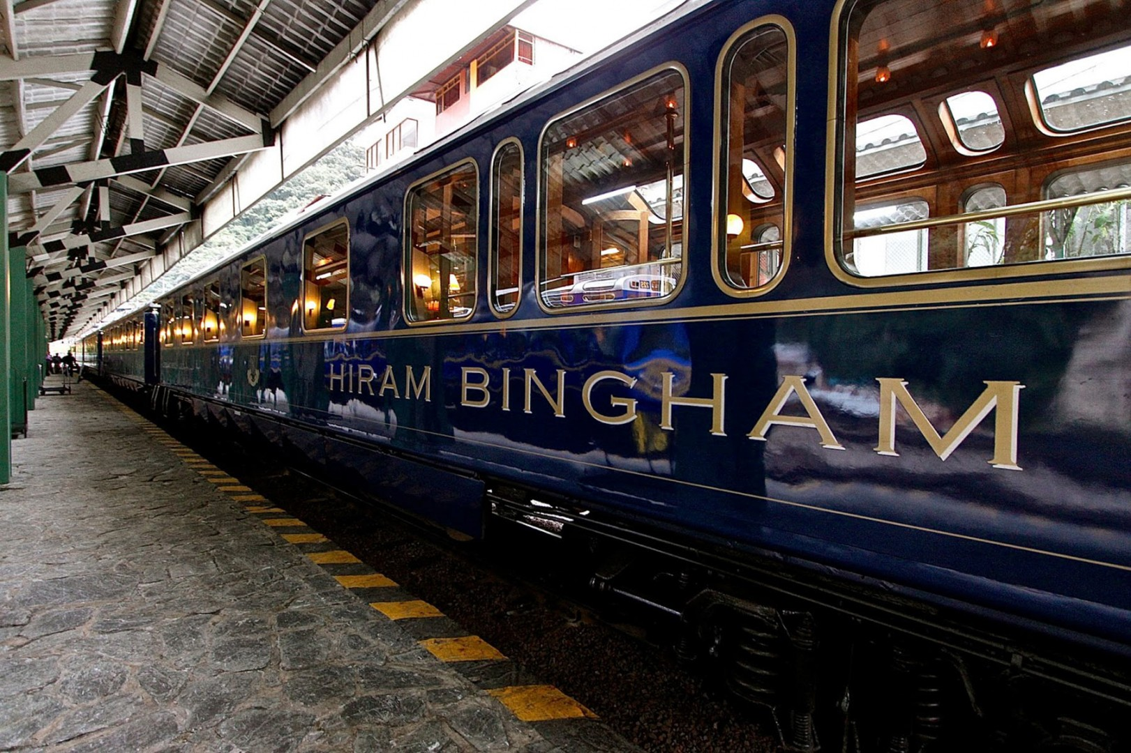 Great Railway Journeys Hiram Bingham
