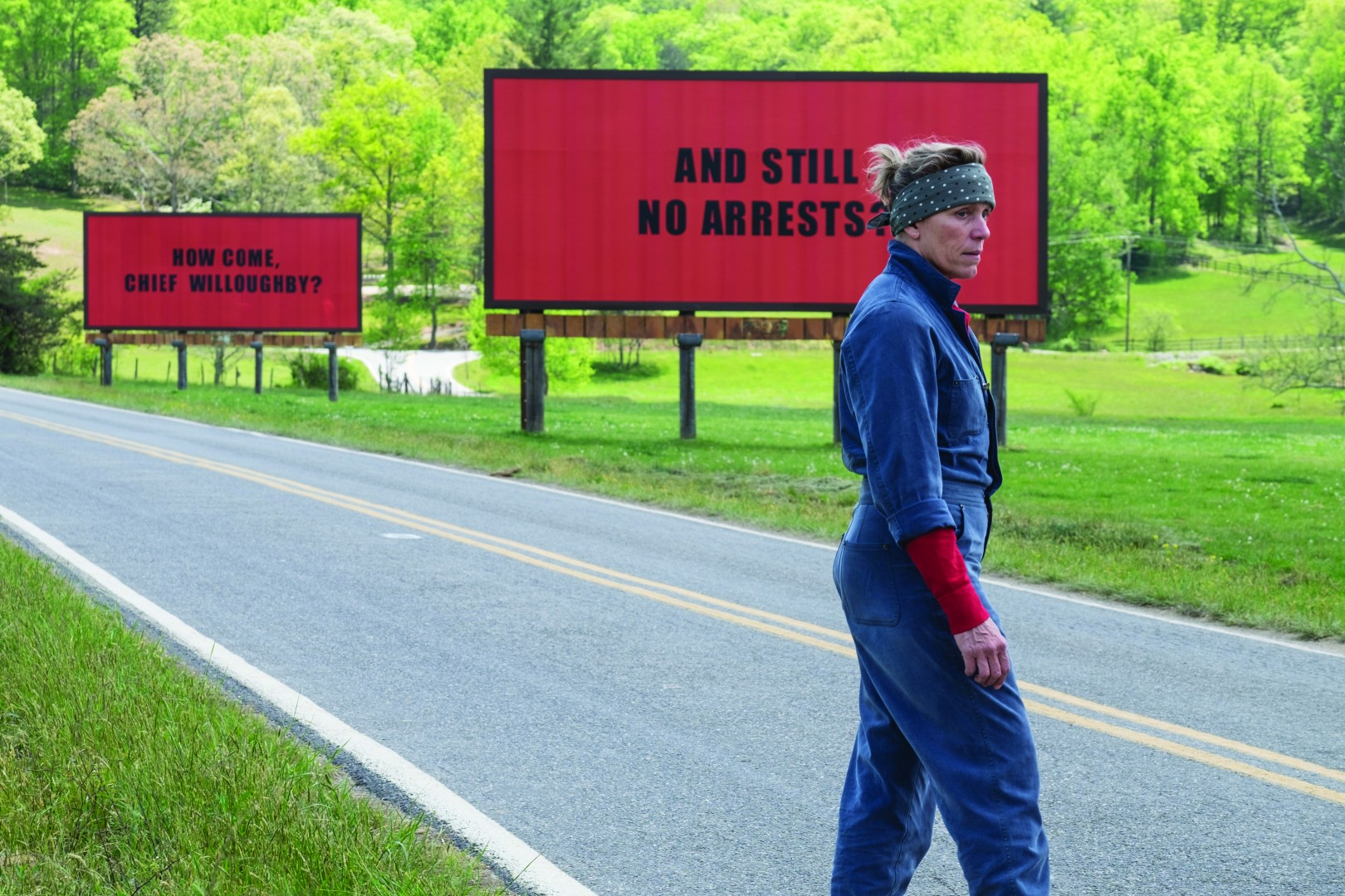 Top 5 Films 2018 Three Billboards Outside Edding Missouri