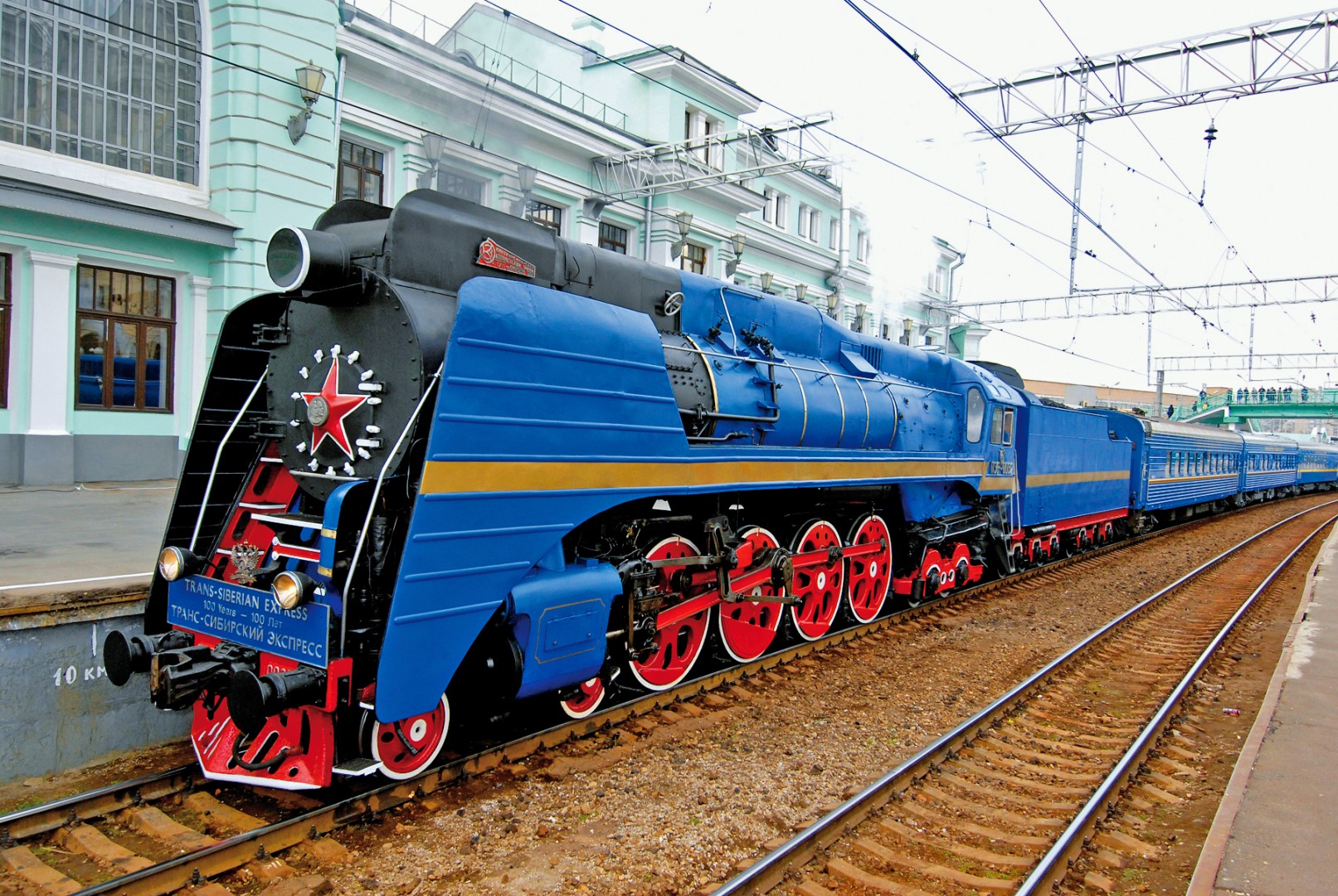 Great Railway Journeys of the World Trans Siberian Express