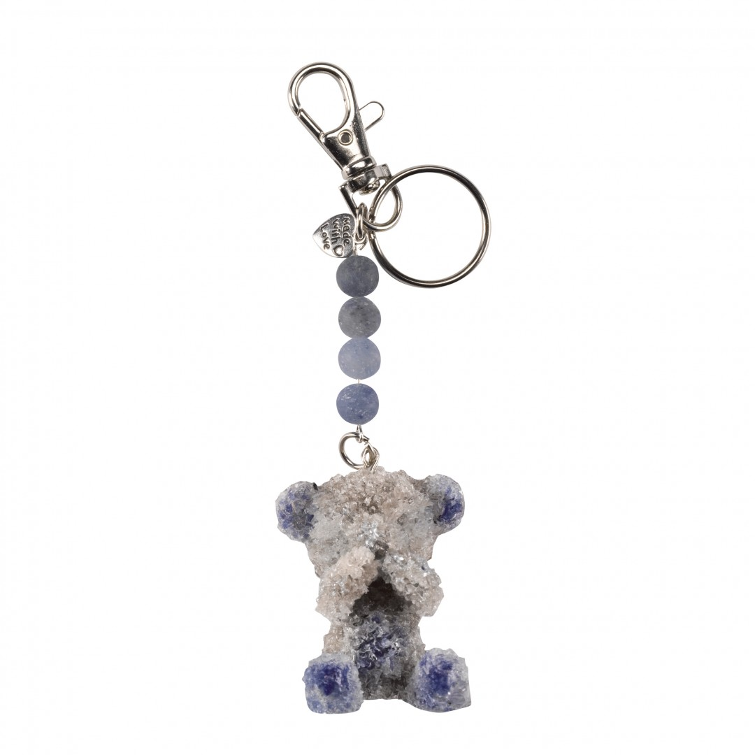 Breathe360 Children's Orgonite Blue Teddy pendant