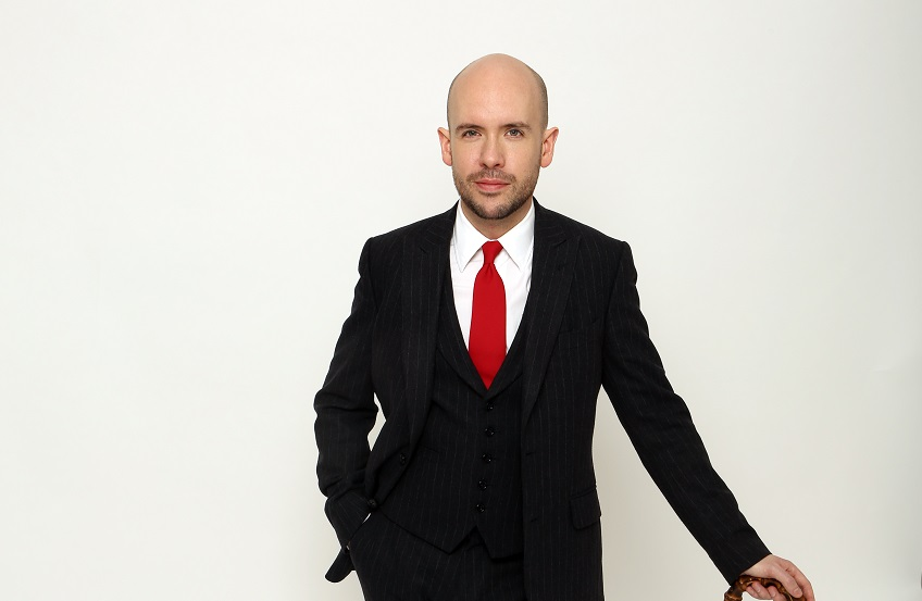 Tom Allen The World From His Shoes Red Tie