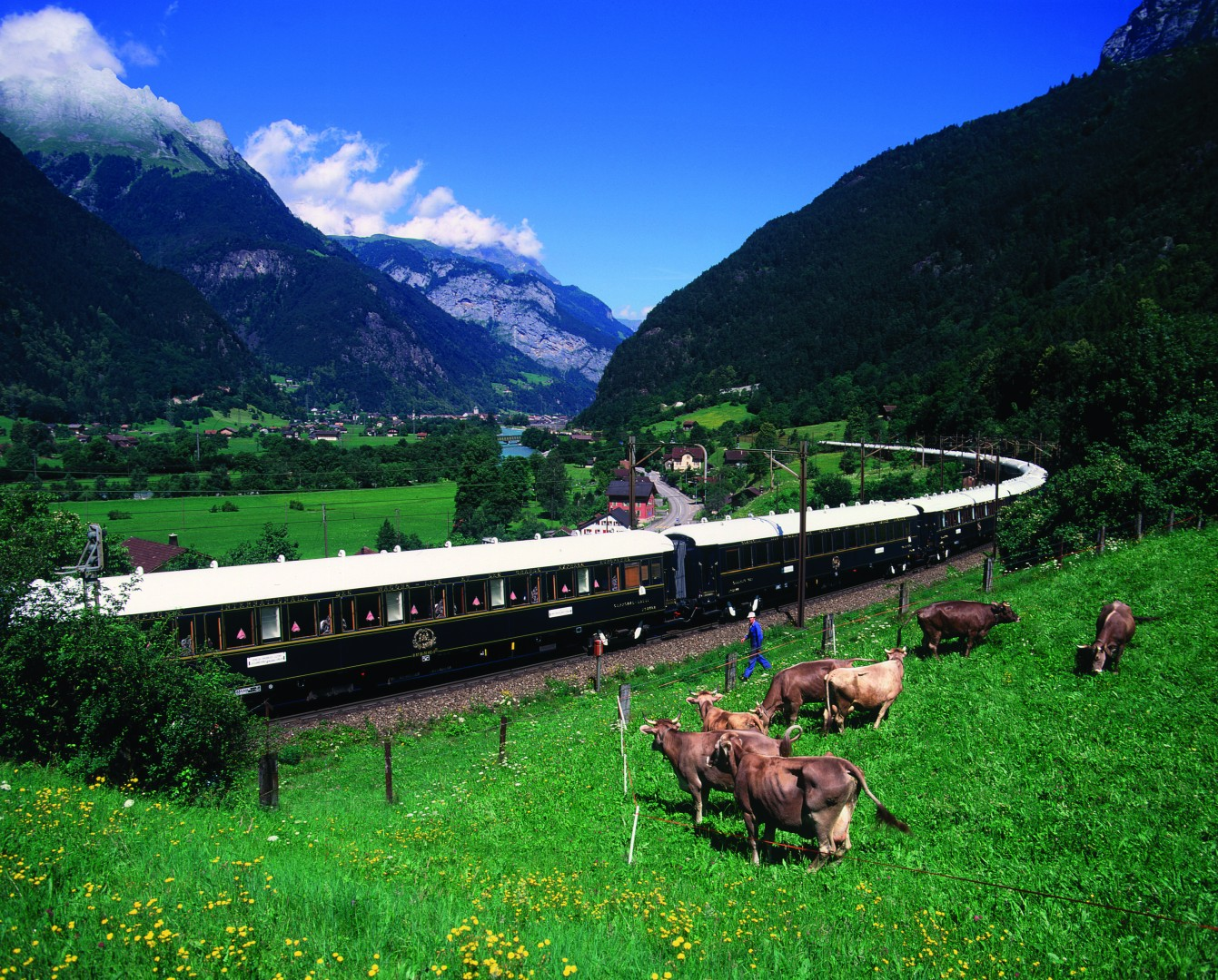 Great Railway Journeys of the World Venice Simplon Orient Express