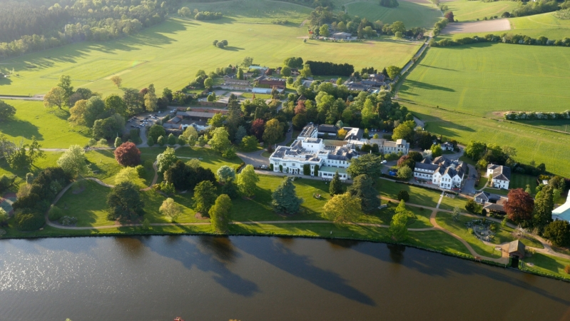 Henley Greenlands campus aerial view