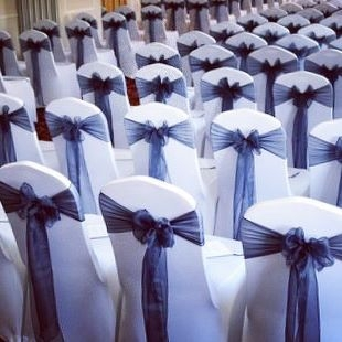 Bicester Hotel Wedding chair backs