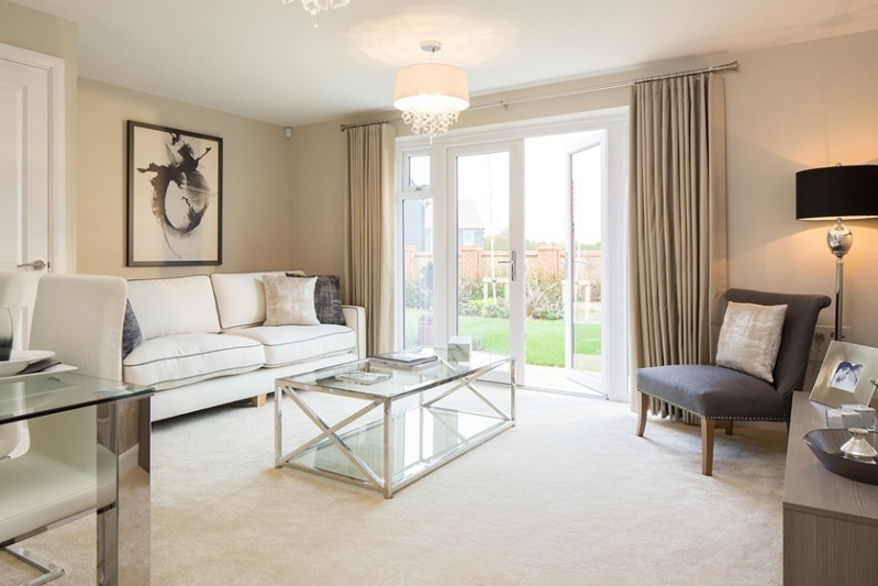 2 Bedroom Home Letcombe Gardens   Lounge