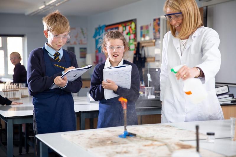 Beachborough science class