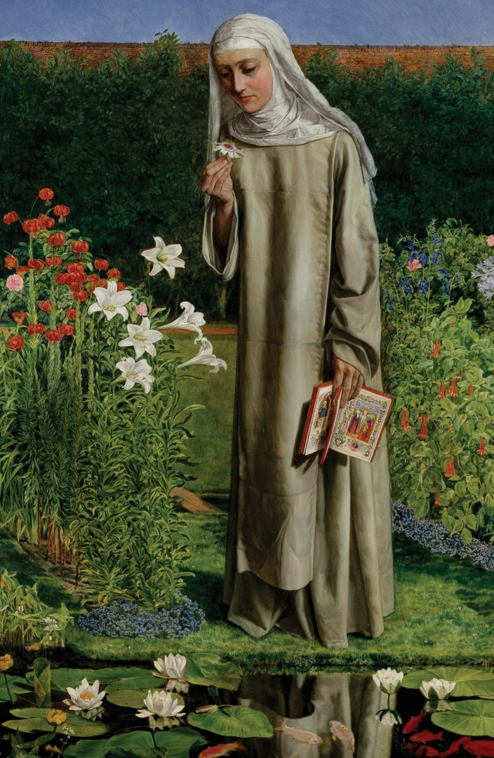 CONVENT THOUGHTS  Charles Allston Collins 1850 51