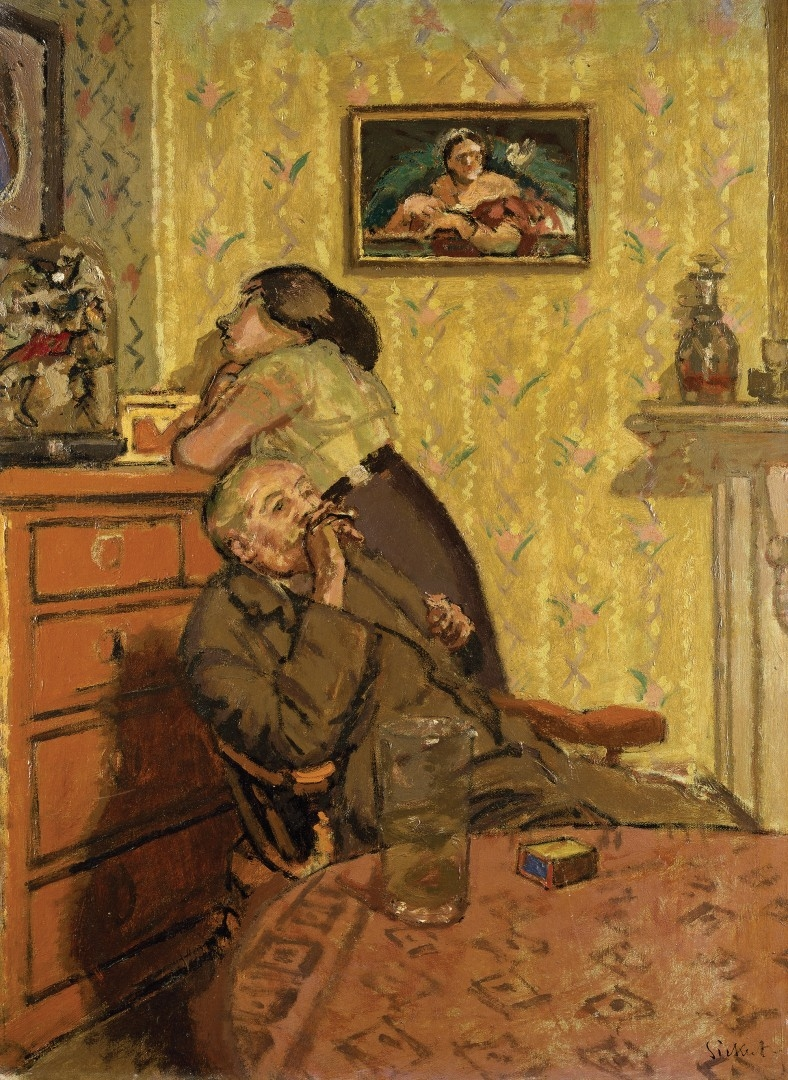 ENNUI  Walter Richard Sickert 1917 1918