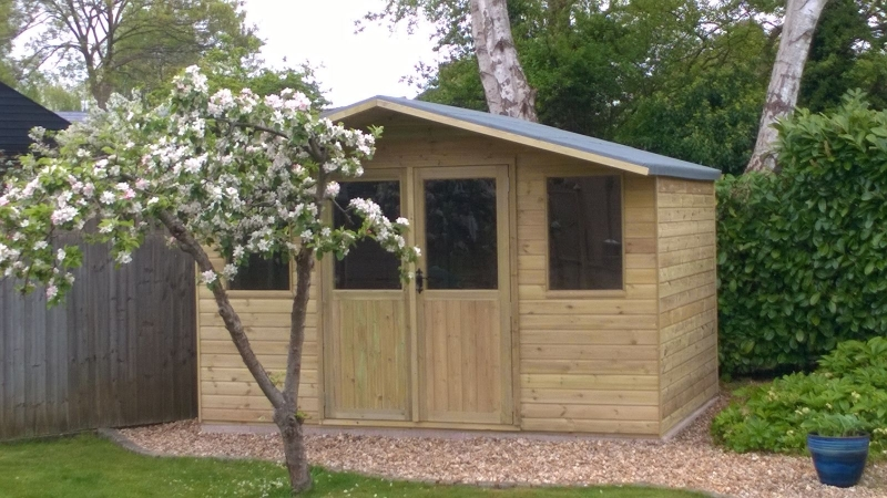 Eynsham Park Sawmill completed shed