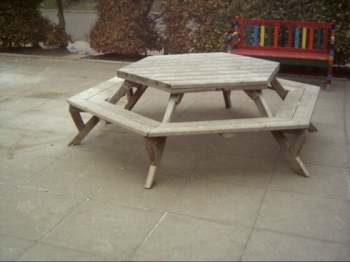 Eynsham Park Sawmill Patio Table