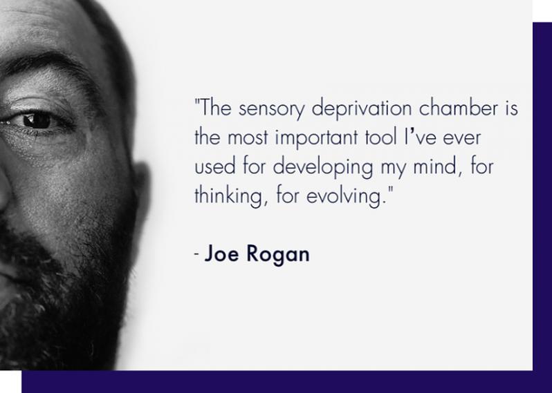 Oxford Floatation Centre Joe Rogan Quote Image