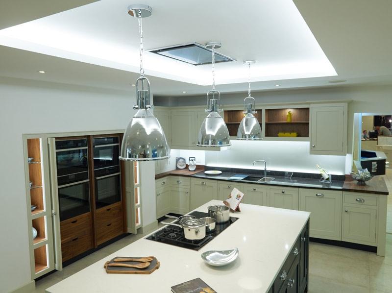 John Nicholls kitchen aerial