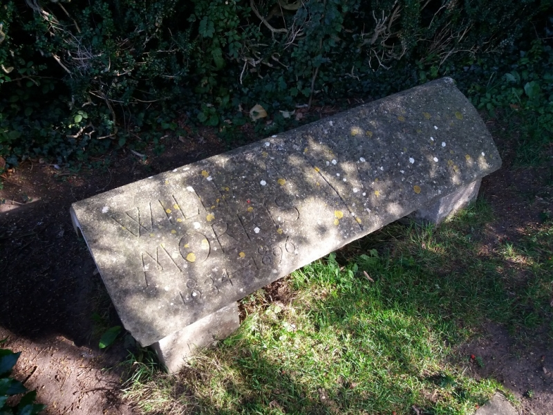 Kelmscott Manor William Morriss Grave