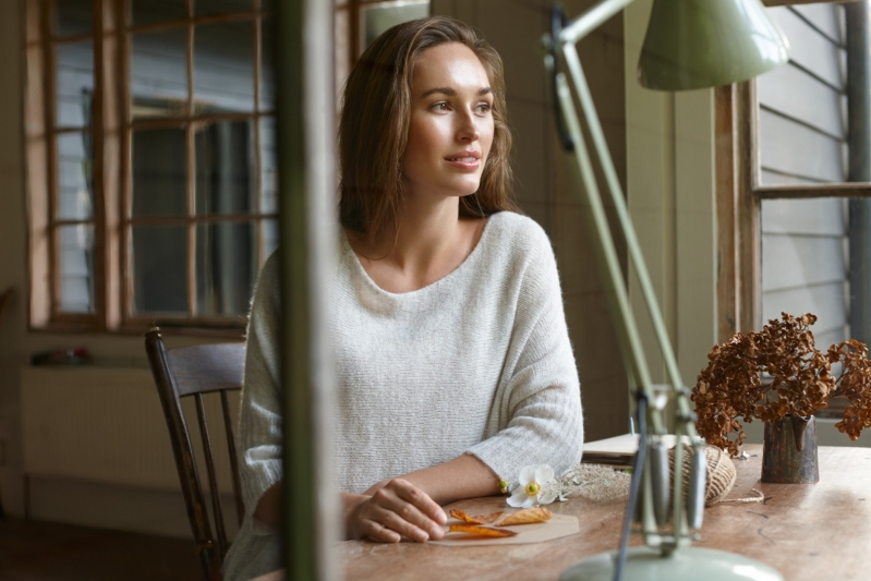 Sahara Soft Touch Knit Sweater Oatmeal