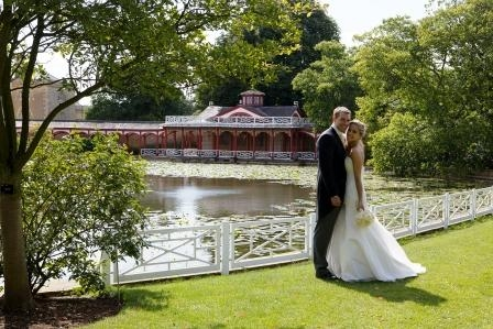 Woburn Abbey Weddings The Chinese Dairy riverside
