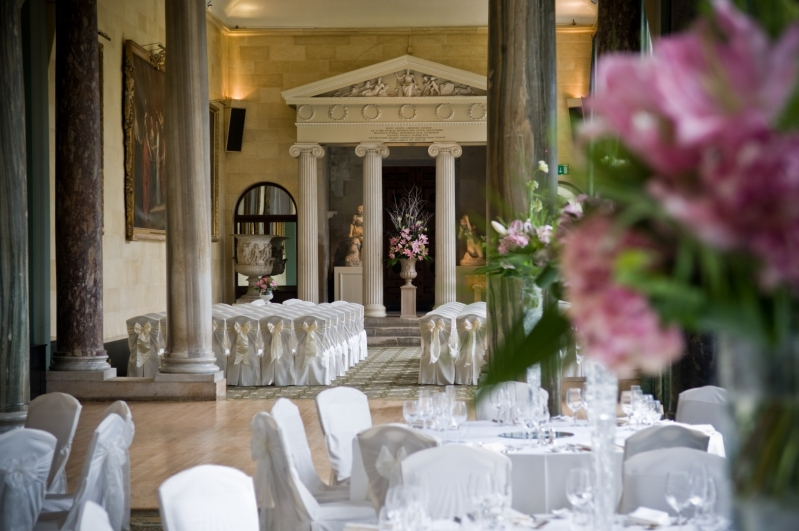 Woburn Abbey Weddings The Sculpture Gallery interior