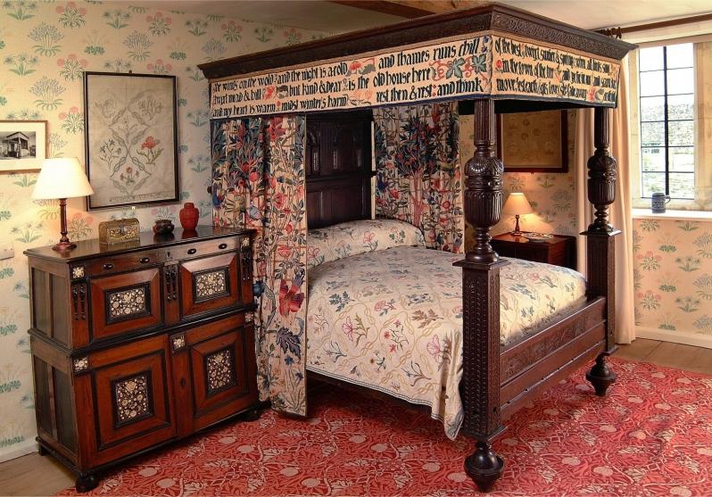 Kelmscott Manor William Morris Bedroom