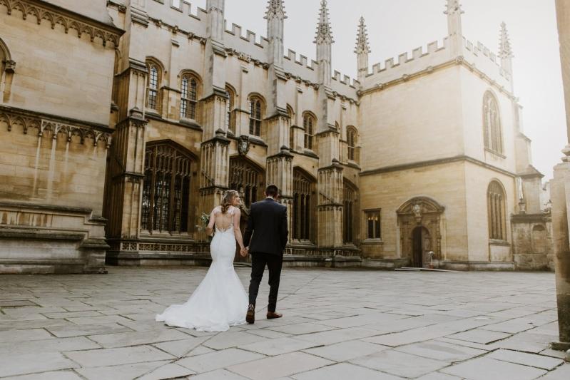 The Bodleian Libraries Weddings Quadrangle