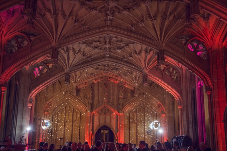 The Bodleian Libraries Wedding Reception Lighting