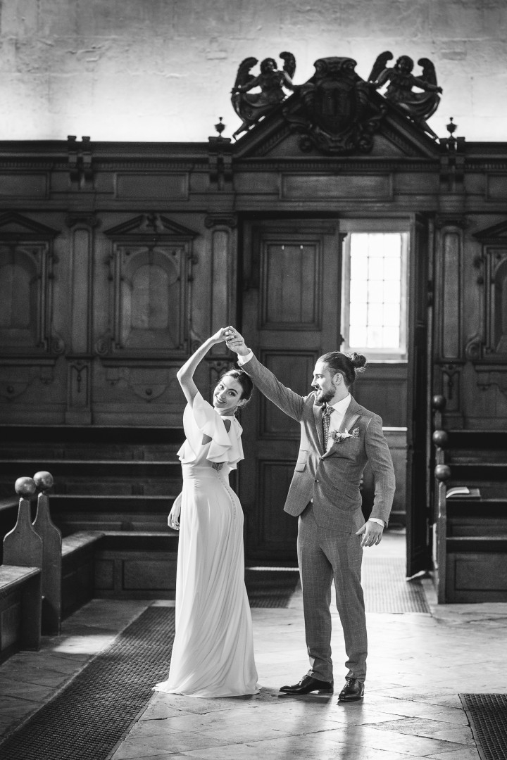 The Bodleian Libraries Wedding couples dance