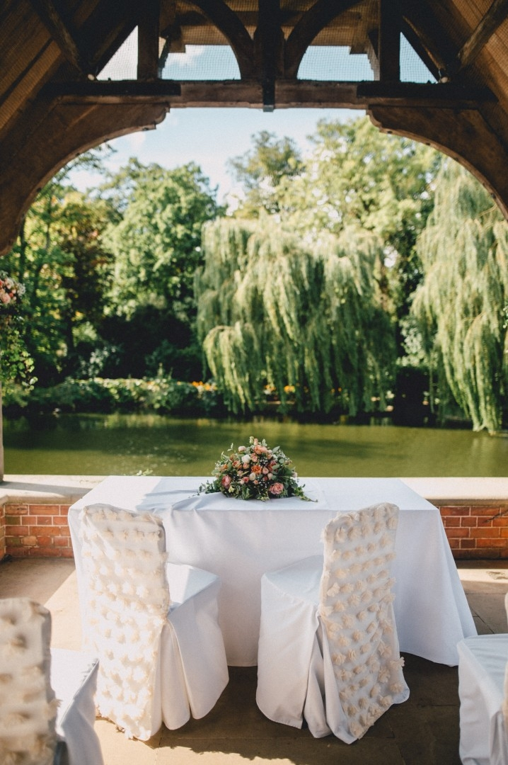The Dairy at Waddesdon Manor Wedding Table Outdoor